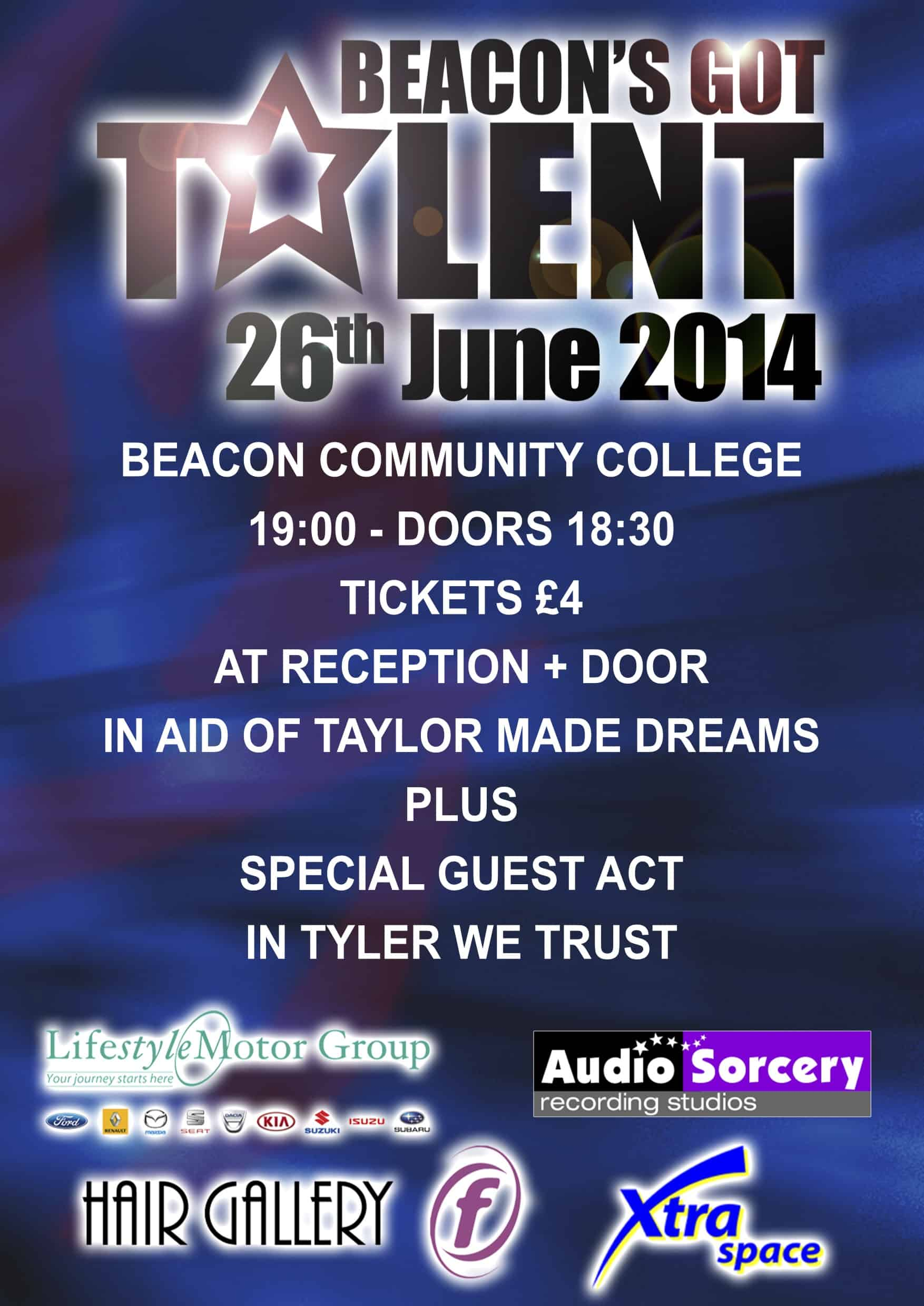 6  talent show poster