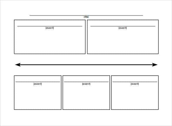 6  timeline templates for kids