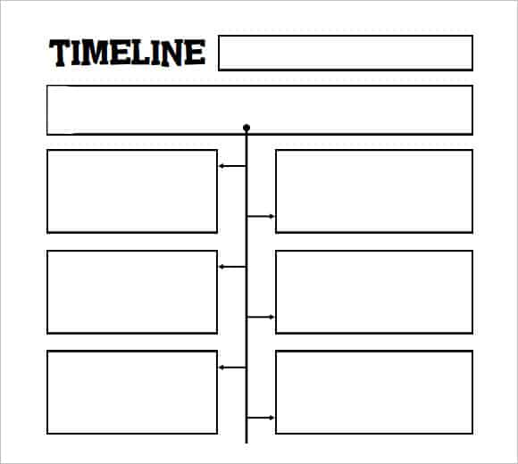 Biography Timeline Template Timeline Templates For Kids Website