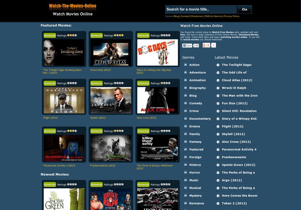 Cinema WordPress Themes 72