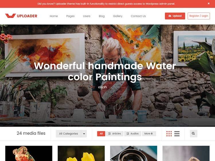 Content Sharing WordPress Themes 82