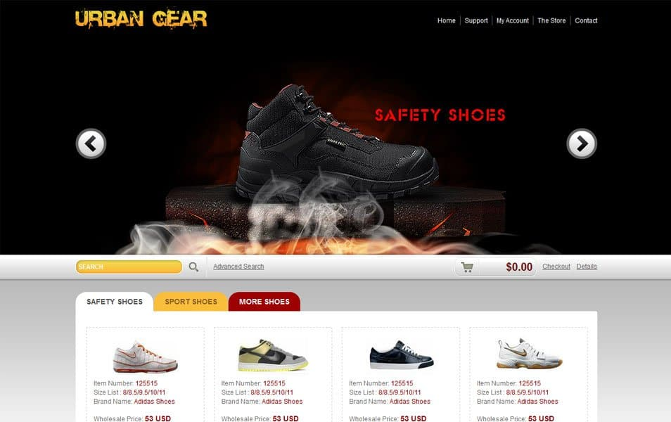 ecommerce website themes free