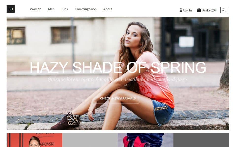Ecommerce HTML5 Templates 82