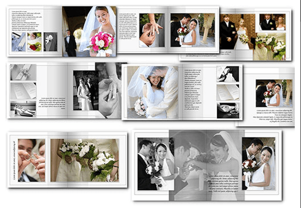 6 wedding album templates website wordpress blog for Wedding photo album templates in photoshop