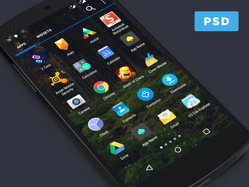 android templates 72