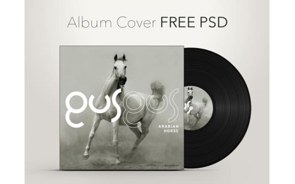 music cover psd 72