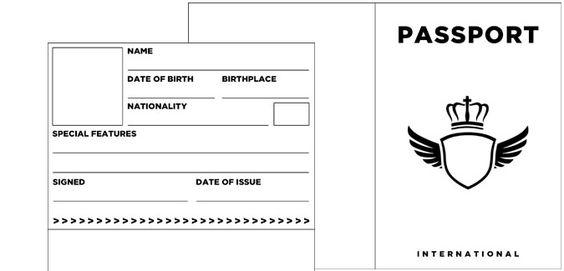 passport template 32