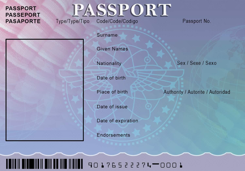 passport template 52