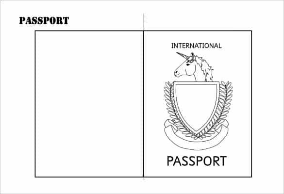 passport template 72