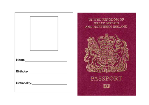 passport template 82