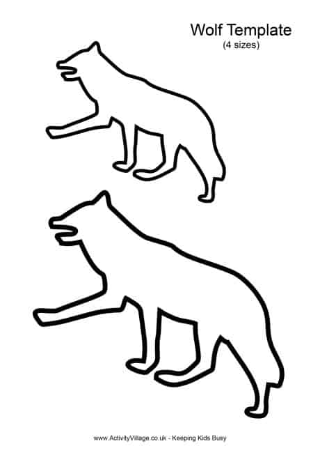 wolf template 12