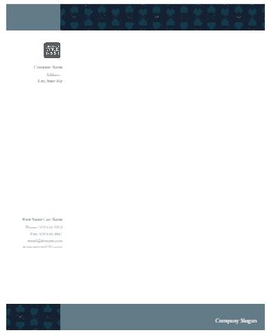 Letterhead Format In Word 10.41