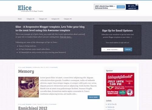 SEO Blogger Templates 7941