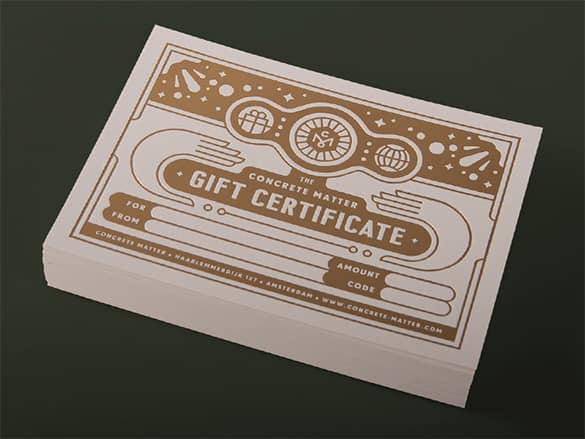 certificate format 11.4