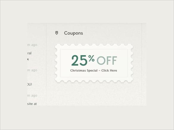 coupon template 11