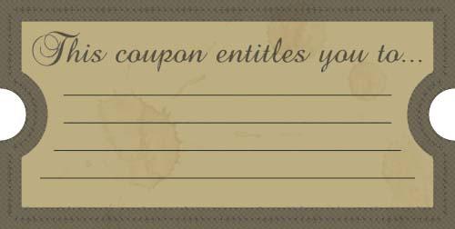 coupon template 51