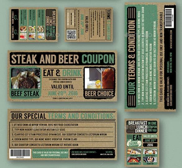 coupon template 8