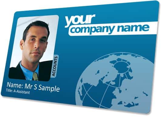 employee id card template 641