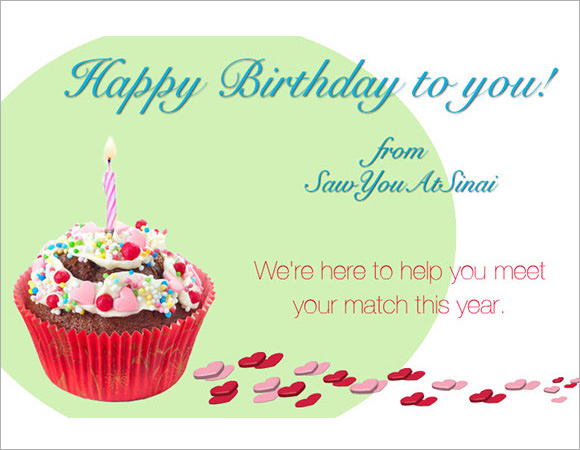 8 happy birthday html templates  formats  cards