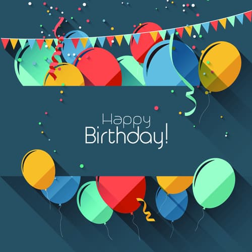 8 happy birthday html templates - formats