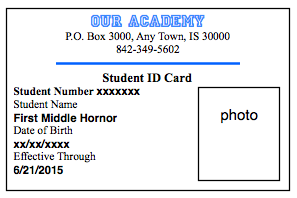 id card template 941