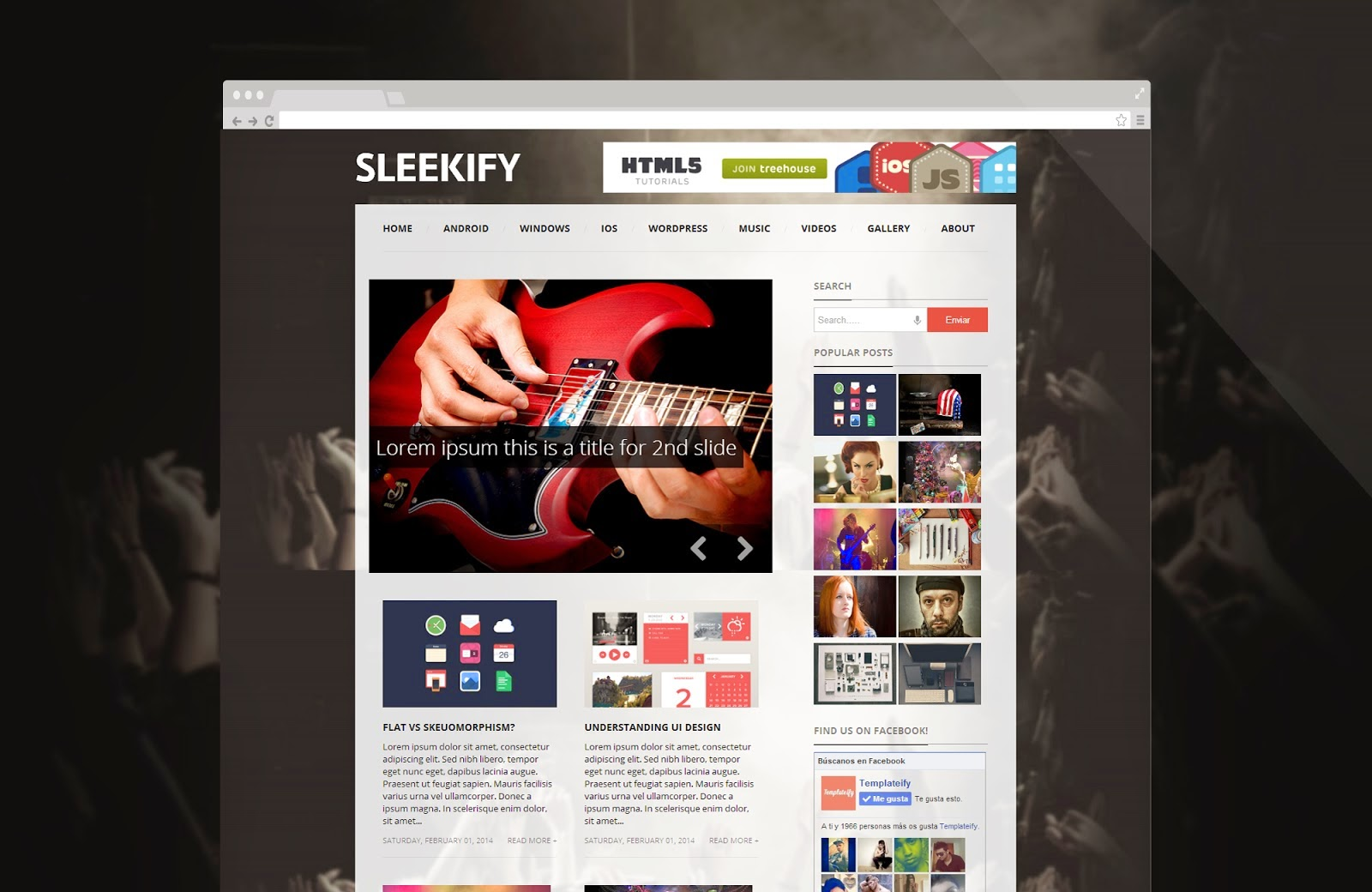 news blogger theme 496
