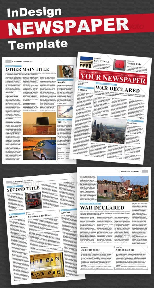 newspaper template 36