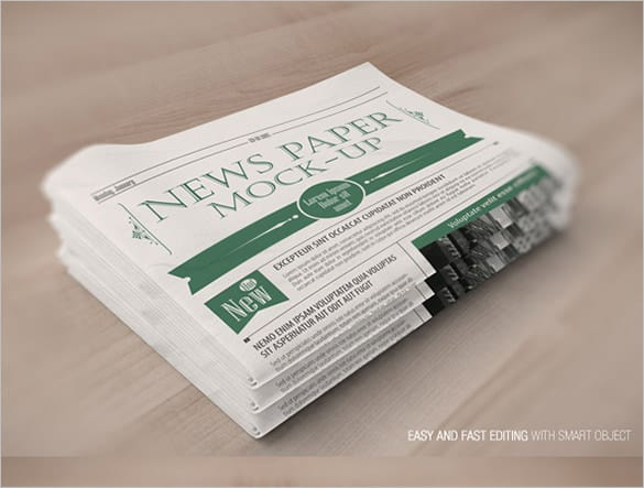 newspaper template 91