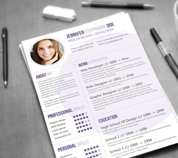 resume templates for mac 164