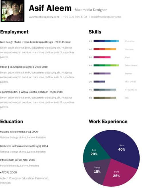 resume templates for mac 561