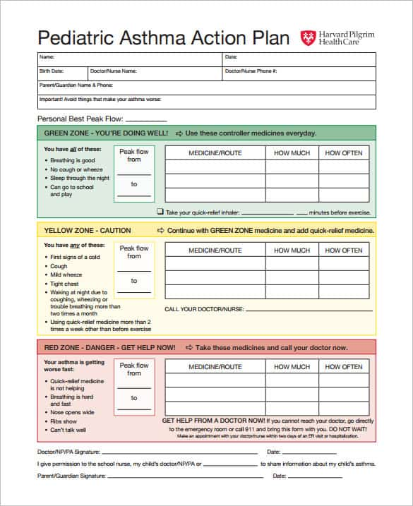 action plan template excel 5461