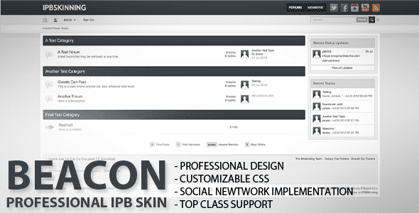 bootstrap forum template 264