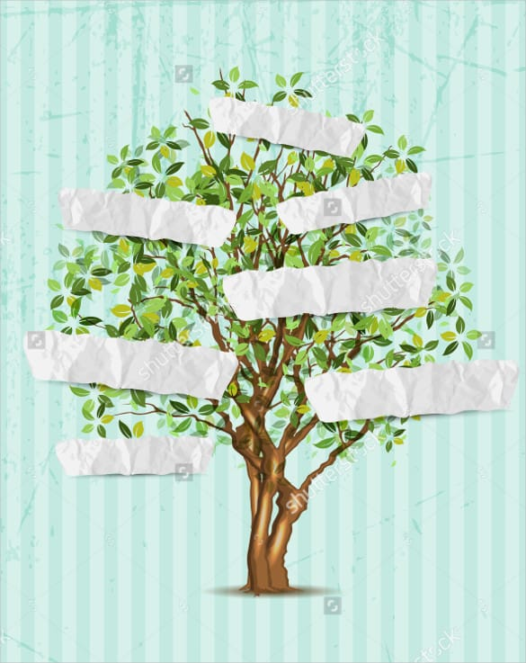 family tree template word  365