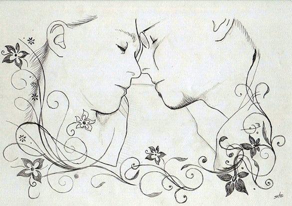 love drawings 87