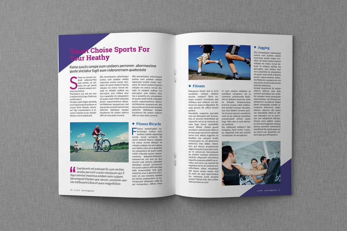 8  microsoft word magazine templates