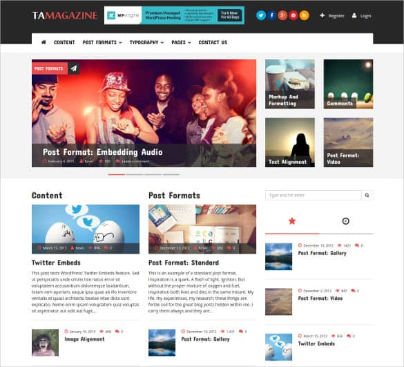news templates for blogger 41