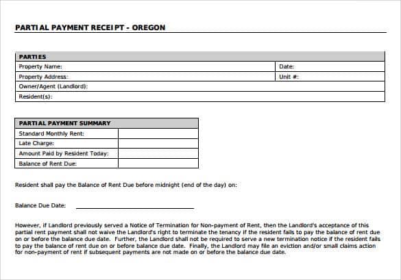 payment receipt format 440