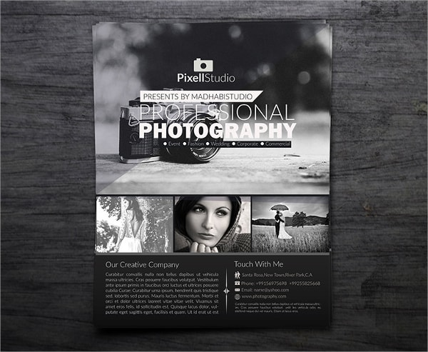 photography flyer 550