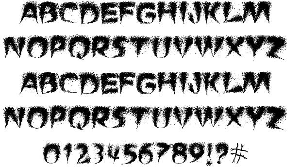 16  free smoke fonts  smoky style