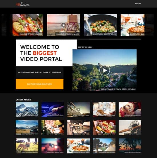 Cinema WordPress Themes 32