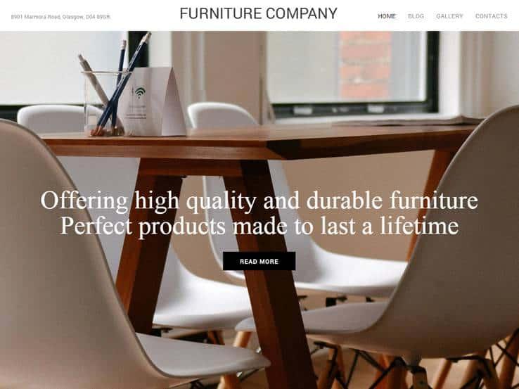 Interior Design WordPress Themes 900