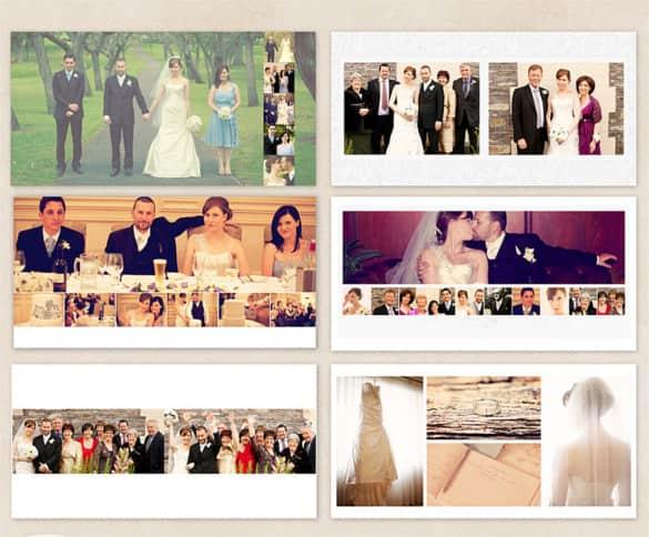 Wedding album templates 12