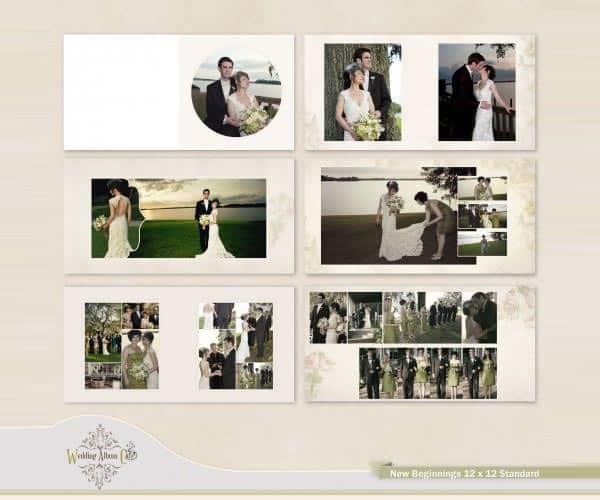 Wedding album templates 52