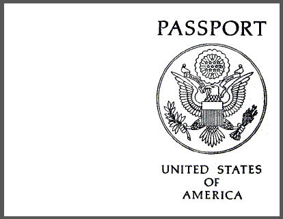 Passport Templates - Word Excel PDF Formats